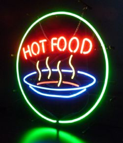 Hot Food Neon Sign